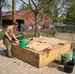 Preparing a deep bed for planting